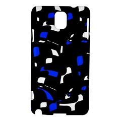 Blue, black and white  pattern Samsung Galaxy Note 3 N9005 Hardshell Case