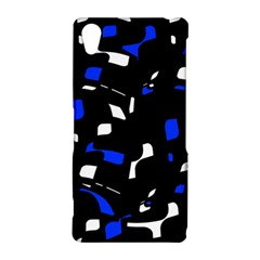 Blue, black and white  pattern Sony Xperia Z2