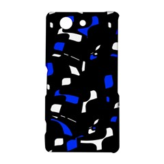 Blue, black and white  pattern Sony Xperia Z3 Compact