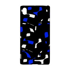 Blue, black and white  pattern Sony Xperia Z3+
