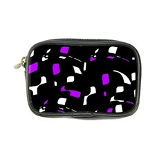 Purple, black and white pattern Coin Purse