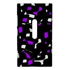 Purple, black and white pattern Nokia Lumia 920