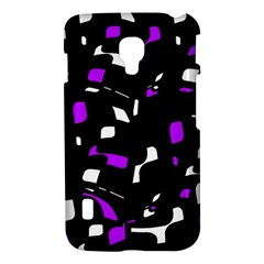 Purple, black and white pattern LG Optimus L7 II