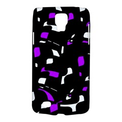 Purple, black and white pattern Galaxy S4 Active