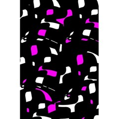 Magenta, black and white pattern 5.5  x 8.5  Notebooks