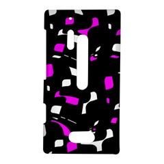 Magenta, black and white pattern Nokia Lumia 928