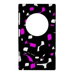 Magenta, black and white pattern Nokia Lumia 1020