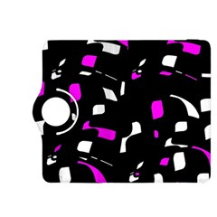 Magenta, black and white pattern Kindle Fire HDX 8.9  Flip 360 Case