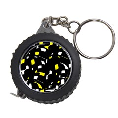 Yellow, black and white pattern Measuring Tapes