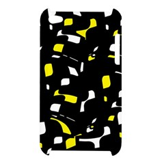 Yellow, black and white pattern Apple iPod Touch 4