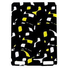 Yellow, black and white pattern Kindle Touch 3G
