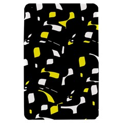 Yellow, black and white pattern Kindle Fire (1st Gen) Hardshell Case