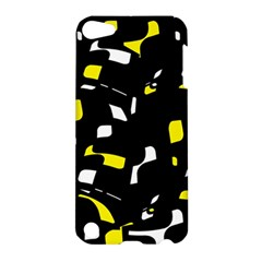 Yellow, black and white pattern Apple iPod Touch 5 Hardshell Case