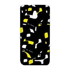 Yellow, black and white pattern HTC One Mini (601e) M4 Hardshell Case