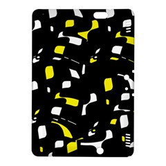 Yellow, black and white pattern Kindle Fire HDX 8.9  Hardshell Case