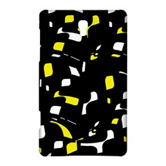 Yellow, black and white pattern Samsung Galaxy Tab S (8.4 ) Hardshell Case