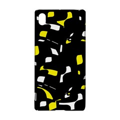 Yellow, Black And White Pattern Sony Xperia Z3+