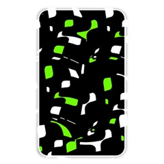 Green, black and white pattern Memory Card Reader