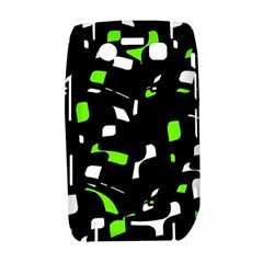 Green, black and white pattern Bold 9700