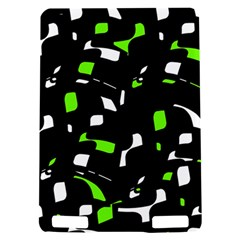Green, black and white pattern Kindle Touch 3G