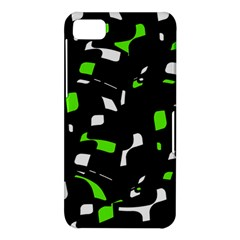 Green, black and white pattern BlackBerry Z10