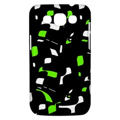 Green, black and white pattern Samsung Galaxy Win I8550 Hardshell Case