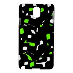 Green, black and white pattern Samsung Galaxy Note 3 N9005 Hardshell Case