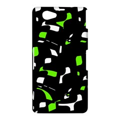 Green, black and white pattern Sony Xperia Z1 Compact