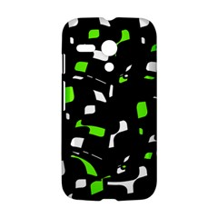 Green, black and white pattern Motorola Moto G