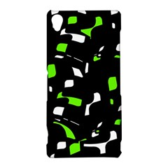 Green, black and white pattern Sony Xperia Z3
