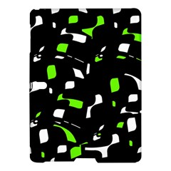 Green, black and white pattern Samsung Galaxy Tab S (10.5 ) Hardshell Case