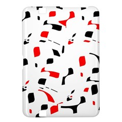 White, red and black pattern Kindle Fire HD 8.9