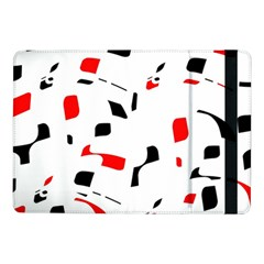 White, red and black pattern Samsung Galaxy Tab Pro 10.1  Flip Case