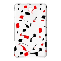 White, red and black pattern Samsung Galaxy Tab S (8.4 ) Hardshell Case