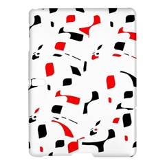 White, red and black pattern Samsung Galaxy Tab S (10.5 ) Hardshell Case