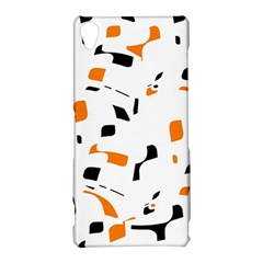 Orange, white and black pattern Sony Xperia Z3
