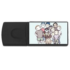 Sandlot USB Flash Drive Rectangular (1 GB)