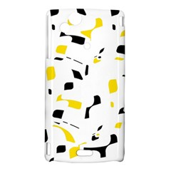 Yellow, black and white pattern Sony Xperia Arc