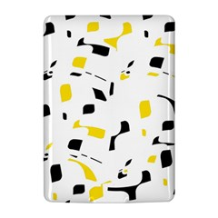 Yellow, black and white pattern Kindle 4