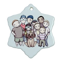 Sandlot Snowflake Ornament (2-Side)