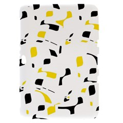 Yellow, black and white pattern Samsung Galaxy Tab 8.9  P7300 Hardshell Case