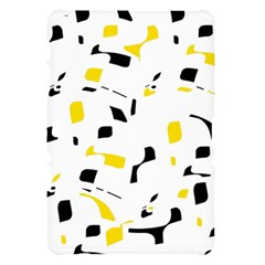 Yellow, black and white pattern Samsung Galaxy Tab 10.1  P7500 Hardshell Case
