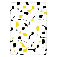 Yellow, black and white pattern Flap Covers (L)