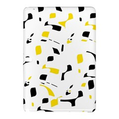 Yellow, black and white pattern Samsung Galaxy Tab Pro 12.2 Hardshell Case