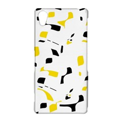 Yellow, black and white pattern Sony Xperia Z2