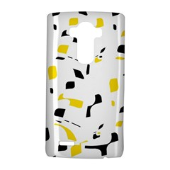 Yellow, black and white pattern LG G4 Hardshell Case