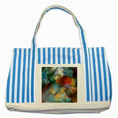 More Evidence of Angels Striped Blue Tote Bag