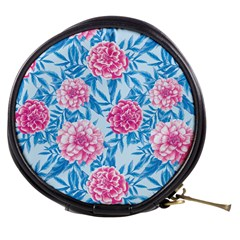 Blue & Pink Floral Mini Makeup Bags