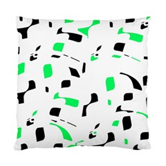 Green, black and white pattern Standard Cushion Case (Two Sides)
