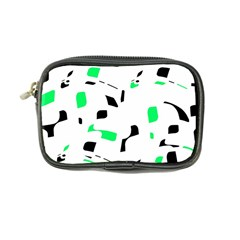 Green, black and white pattern Coin Purse